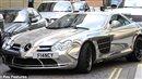 El Hadji Diouf's chrome Mclaren Mercedes