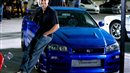 Paul Walker Nissan Skyline GTR R34