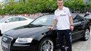 Bastian Schweinsteiger's Audi S8