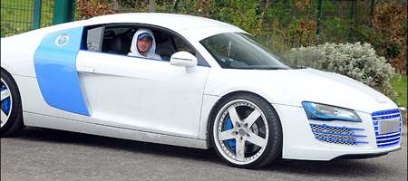 Stephen ireland in custom blue and white audi r8 car images on stephen ireland in custom blue and white audi r8 automotive pictures publicscrutiny Choice Image