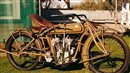 1917 Military Indian Power Plus classic motorcycle