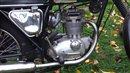 BSA B25 Fleetstar classic motorcycle