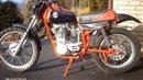 Yamaha XT500CZ classic motorcycle
