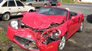 Toyota MR2 is a write off after rich fool breaks the speed limit and pays the price