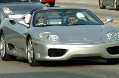 Britney Spears and Kevin Federline in Ferrari - Car Images ...
