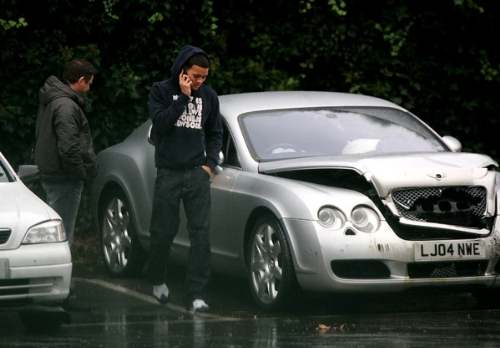 photo of Jermaine Jenas Bentley Continental GT - car