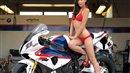 Bikini bike babe